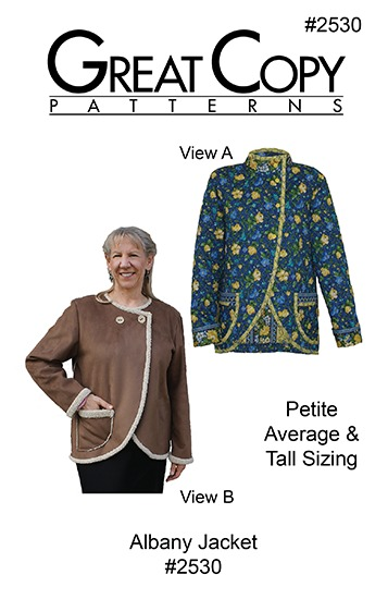 Albany Jacket Pattern Cover