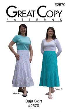 Baja Skirt #2570 Pattern Cover