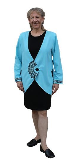 Barcelona Jacket Embroidered
