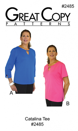 Catalina Tee Pattern Cover