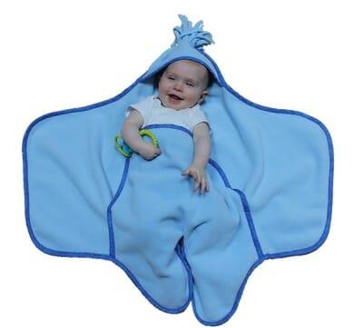 Cuddle Wrap Bias Trim View