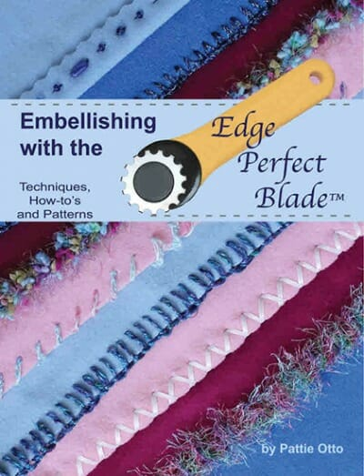 Embellishing with the Edge Perfect Blade Book Cover