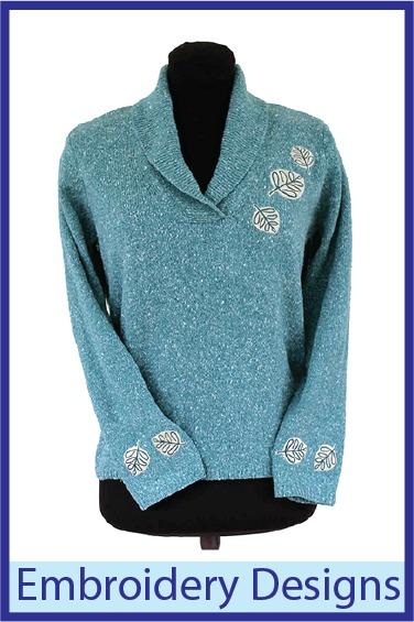 Embroidery Design sweater