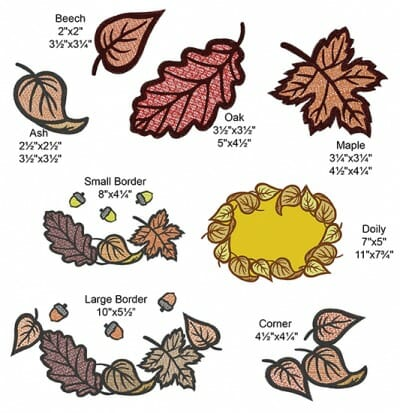 Falling Leaves Designs