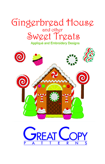Gingerbread House Cover