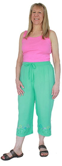 Maui Pants in Rayon Challis