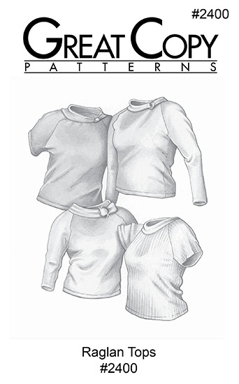 Raglan Top Pattern #2400
