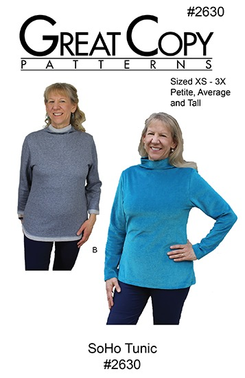 SoHo Tunic Pattern Cover