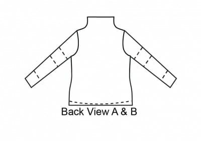 Soho Tunic Back View