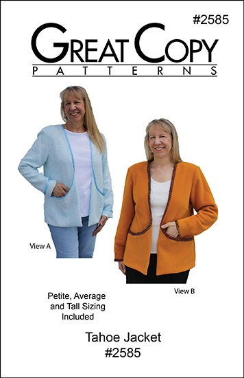 Tahoe Jacket Pattern Cover