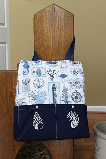 Ten Pocket Tote