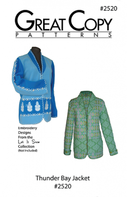 Thunder Bay Pattern Cover