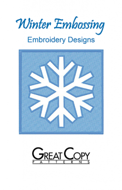 Winter Embossing Front Cover