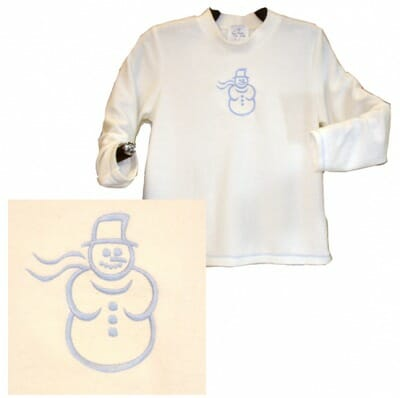 Winter Embossing Snowman