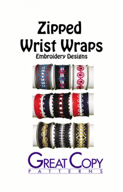 Zipped Wrist Wraps Cover