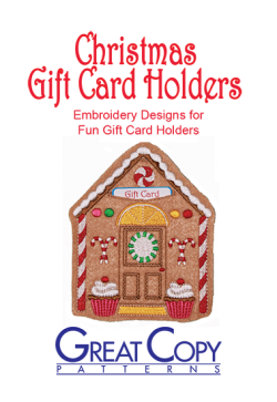 Christmas Gift Card Holder Cover