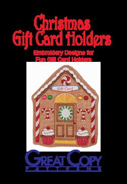 Christmas Gift Card Holder Cover